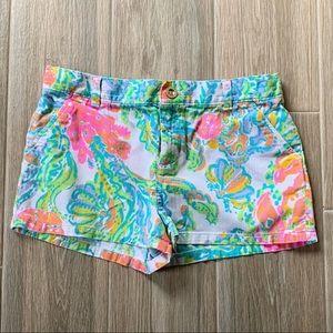 Lilly Pulitzer mini Callahan shorts sz12